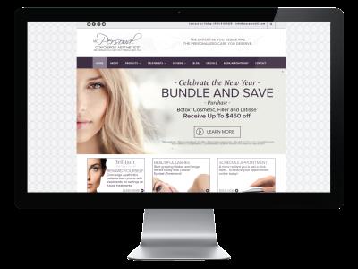 mdPersonal - Concierge Aesthetics - Website Refresh